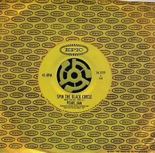 PEARL JAM  Spin The Black Circle / Tremor Christ  rare 45 with Title Sleeve