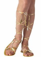 Greek Goddess Roman Egyptian Cleopatra Costume Sandals 7 - 8