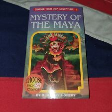 Choose Your Own Adventure - Book 5 Mystery of the Maya - Fantasy Gamebook Mayans