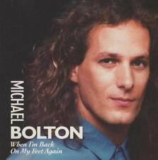 Michael Bolton: When I'm Back On My Feet Again Remix PROMO w/ Art MUSIC AUDIO CD