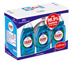 Fairy Antibacterial Washing Up Liquid 870ml (Pack of 6)