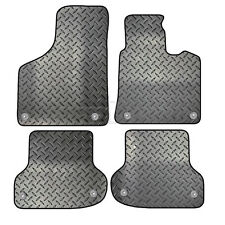 Audi A3 Sportback 5 Door 2004 - 2012 Tailored 4 Piece Rubber Car Mat Set 8 Clips