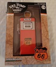 Greenlight Vintage Phillips 66 Gas Pump 1/18.  4 inches tall