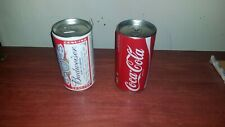 DALE EARNHARDT COKE AND DALE JR BUD 1:64 ACTION DIECASTS IN A CAN