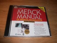 The Merck Manual Of Medical Information Home Edition Reference CD ROM NEW Sealed