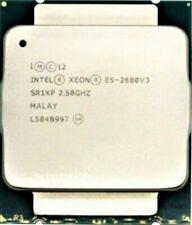 More details for sr1xp intel xeon e5-2680v3 2.50ghz 30m 12 cores 9.6 gt/s 120w processor