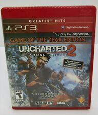 PS3 Uncharted 2 Among Thieves.  Complete.  Pre-owned.