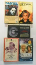 Lot of Five Drama Movies, Beta Tapes, Betamax Daniel, Firestarter, Razor's Edge