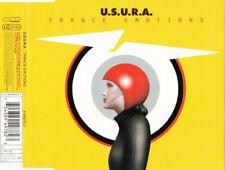 Usura U.S.U.R.A. - Trance emotions - MCD Maxi CD - Sehr Guter Zustand