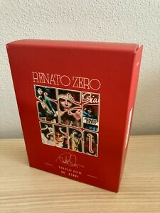 Renato Zero _ SeiZero _ 3 DVD + Libro BoxSet Cofanetto Numerato _ 2011 Tattica