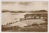 Dunbartonshire postcard - Loch Lomond and Luss from the Strone Hill - RP