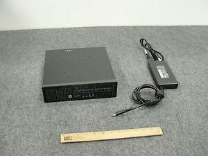 HP EliteDesk 800 G1 USlim Desktop Core i5-4590S, 8GB RAM, 500GB HDD, & Win 8 Pro