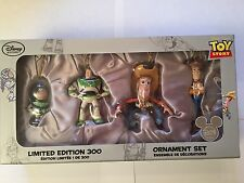 BUZZ LIGHTYEAR & WOODY Ornaments Set of 4 Limited Edition 300 Disney Toy Story