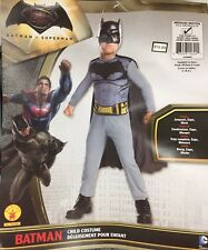 Batman Costume Child Kids Sz M Medium 8-10 Halloween Dress Up Superhero DC