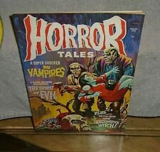 Vintage Horror Tales Very Fine Condition Torture Bondage August 1974 Monster