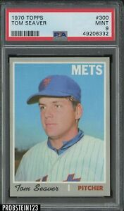 1970 Topps #300 Tom Seaver New York Mets HOF PSA 9 MINT