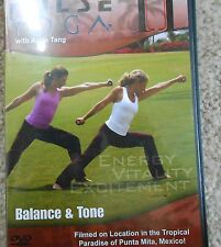 Pulse Yoga II Balance & Tone Workout DVD Angie Tang Fitness Exercise Strength