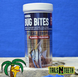 Fluval Bug Bites Tropical Flakes 90g ~ Insect Larvae High Protein Diet