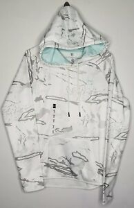 Under Armour Apparel Womens Icon Camo Hoodie White XS,MED 1286056 957 NEW HUNT