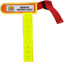Plane Sights Universal Pitot Tube Cover - High Visibility Reflective- PSUPTC0707
