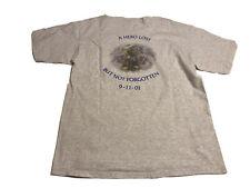 Huntington Manor Fire Department Suffolk T-Shirt Peter Nelson Memory XL Sept 11