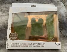 Zoe Ayla Jade Gua Sha Therapy 3 Piece Set, New in Box
