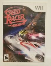 Speed Racer Video Game game for Nintendo Wii Complete