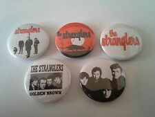 5 The Stranglers pin button badges 25mm UK Punk Rock The Ramones Sex Pistols