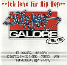 RHYMES GALORE - STRIKE TWO - ICH LEBE FÜR HIP HOP/ 2 CD-SET