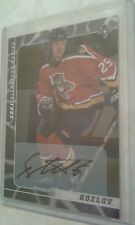 2000-01 BAP Signature Series Autograph Viktor Kozlov Card 26