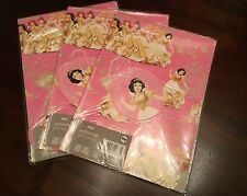 NEW DISNEY PRINCESS GIFT WRAPPING PAPER AND TAGS 6 SHEETS 6 TAGS BNWT QUALITY