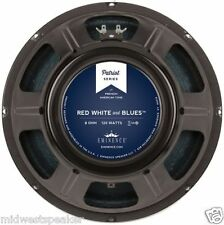 "Eminence RED WHITE & BLUES 12"" Guitar Speaker - 8 ohm 120w NEW - FREE SHIPPING!"