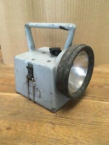 Vintage BR British Rail Guard's Bardic Lamp Torch