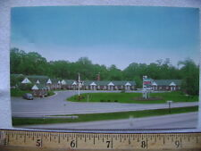 1950's postcard - Hawkins Motel, 7 Miles North of Baltimore, Middle River Rd, MD