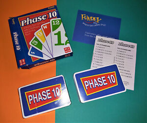 🌈🌈 Phase 10 Card Game by Mattel Open Box - 1 deck still sealed 🌈🌈