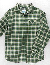 Columbia Omni Tech Advanced Evaporation Long Sleeve Button Down Shirt (Mens Md)