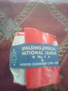 1940s Baseball Sealed Bag Ford Frick Official National League Spalding Unopened