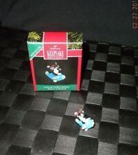 """1991 Hallmark Keepsake """"Kittens In Toyland"""" Miniature Ornament"""