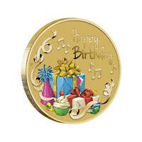 Australia 2020 Happy Birthday $1 One Dollar Coloured UNC Coin Carded