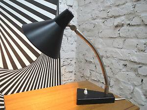 HALA ZEIST TABLE DESK OFFICE LAMP LAMPE LEUCHT LIGHT 1950s HOLLAND