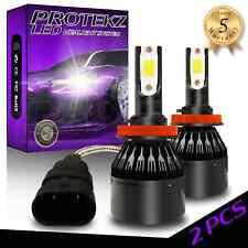 Protekz Led Headlight Kit Cree H11 6000K for Ford Flex 2009-2019 Fog Light