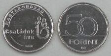 Ungarn / Hungary 50 Forint 2018 Jahr der Familie unz.