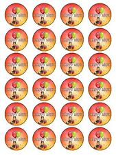 X24 18TH BIRTHDAY PARTY CUP CAKE TOPPERS DECORATION IDEAS ON EDIBLE RICE PAPER