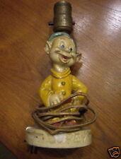 DOPEY  FIGURINE LAMP  Circa  1938!  Super Rare