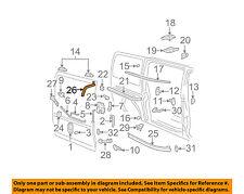 GM OEM Side Sliding Door-Roller Bracket 15837340
