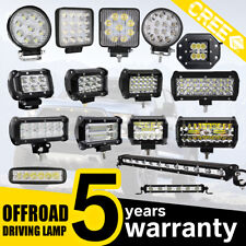 CREE LED Work Light Bar Spot Flood Offroad Roof Power Driving Boat Truck Lamp