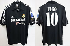 2002-2003 Real Madrid Jersey Shirt Camiseta Figo #10 L UEFA Champions League NWT