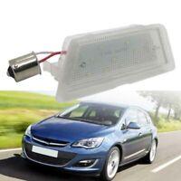 1X LED Led Number License Plate Light for Opel Astra G 98-04 Car License Li V3M6
