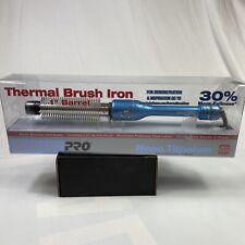 "Babyliss Pro Nano Titanium Thermal Brush Hair Iron 1"" Barrel 120V BABNT100HC New"