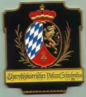Posthausschild Serie Motiv 1  Bayern um 1790 Carl Poellath limitiert